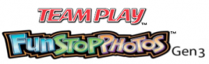 Logos: Team Play, FunStop Photos