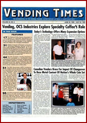 Digital photo booth manufacturer Team Play in Vending Times Magazine