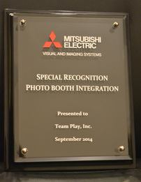Mitsubishi award for best photo booths