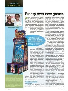 Frenzy Over New Games pg 1