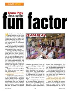 Team Play in Play Meter Magazine