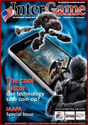 Digital photo booth manufacturer Team Play Inc in Intergame Magazine