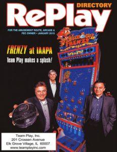 Fishbowl Frenzy in RePlay Magazine